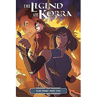 Legenden om Korra, den: revirstrider del två (Häftad)