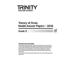 Trinity College London Theory Model Answers Paper (2016) Grade 2