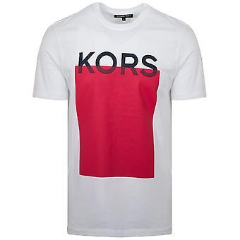 Michael Kors  Michael Kors White Logo T-Shirt