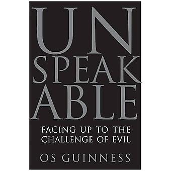 Unspeakable by Guinness & Os