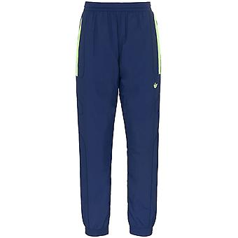 Adidas Blue Polyester Joggers