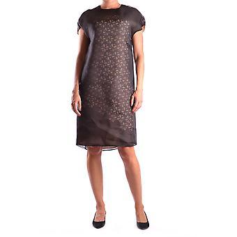 Fendi Black Silk Dress
