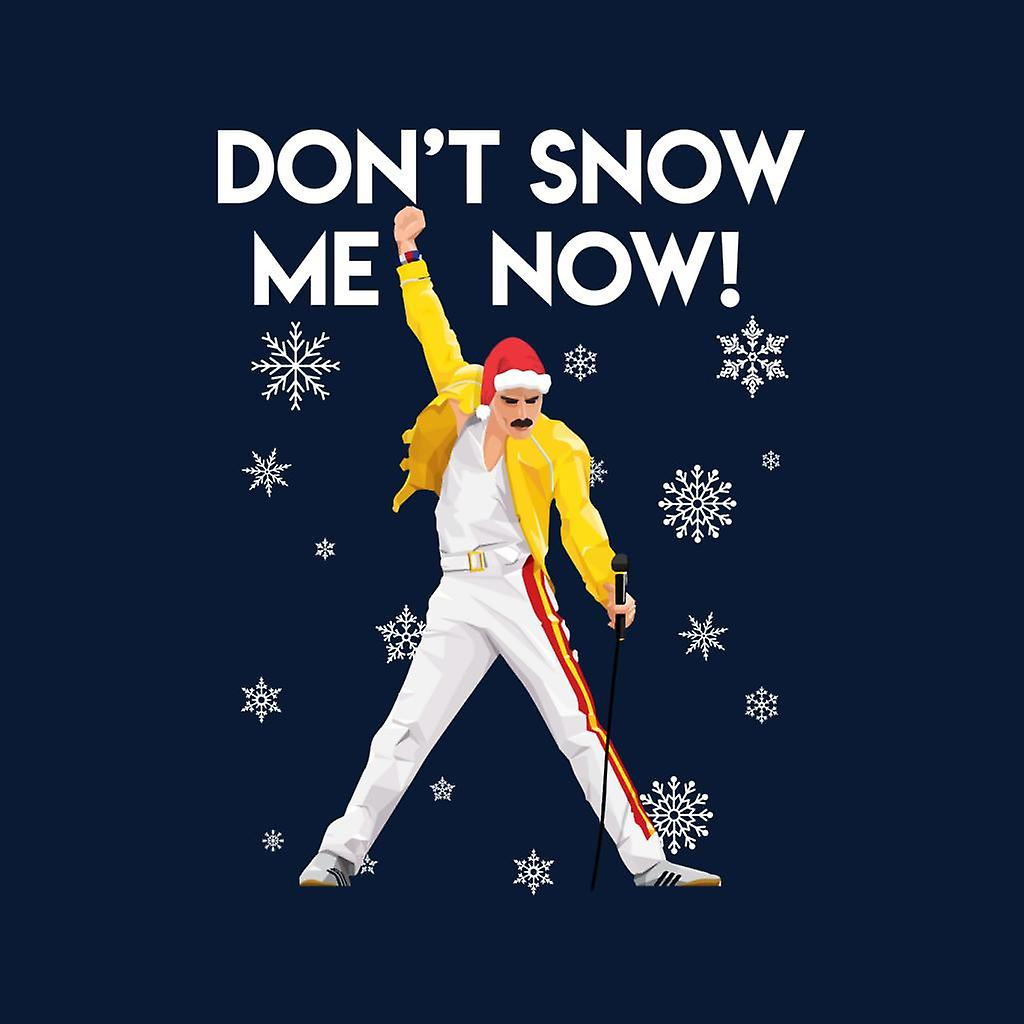 Christmas Freddie Mercury Dont Snow Me Now Kid's Varsity Jacket