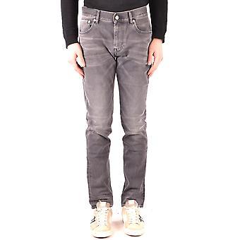 Stone Island Grey Denim Jeans