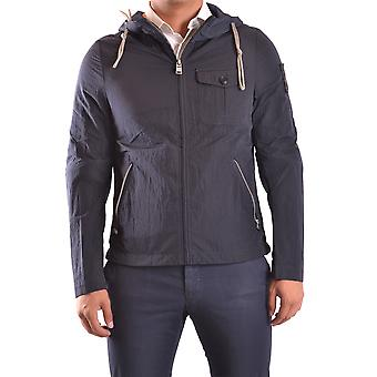 Dekker Blue Nylon Outerwear Jacket