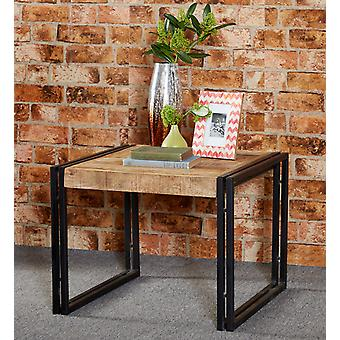 Maison Industrial Metal & Wood Small Coffee Table