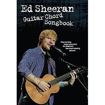 Ed Sheeran - Guitar Chord Songbook - 9781783058310 Book