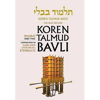 Shabbat - Pt. 2 by Adin Even-Israel Steinsaltz - 9789653015654 Book