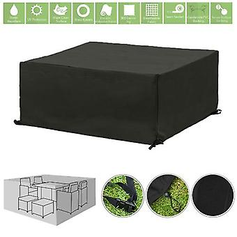 Gardenista® Black Protective Cover für 8 Piece Cube Patio Set