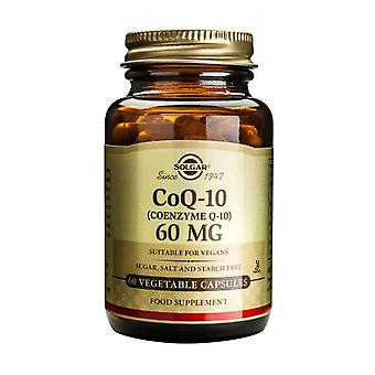Solgar Coenzyme Q-10 60 mg Vegetable Capsules, 60