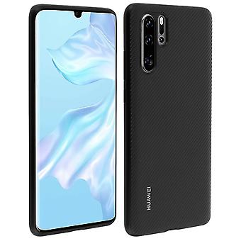 P30 Pro Hard Protective Textured Finish PU Case Huawei Black