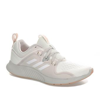 Womens adidas Edgebounce Running Shoes In Footwear White / Grey One / Ash Pearl
