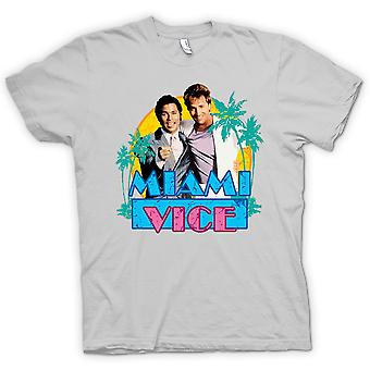 Tubbs y Crockett Womens t-shirt - Miami Vice-