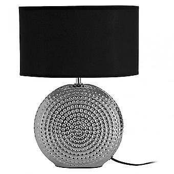 Premier Home tafel lamp, keramiek, zwart