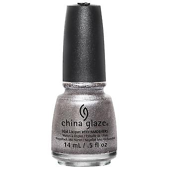 China Glaze Nail Polish Collection - Check Out The Silver Fox 14mL (82709)