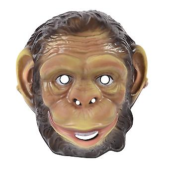 Bristol Novelty Unisex Adults Plastic Chimp Mask