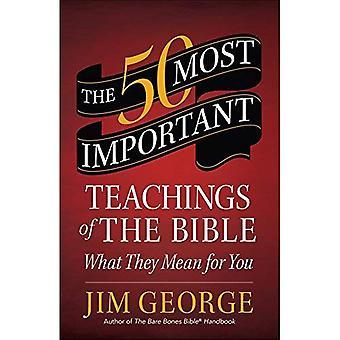Die 50 wichtigsten Lehren der Bibel: Was bedeuten sie für Sie