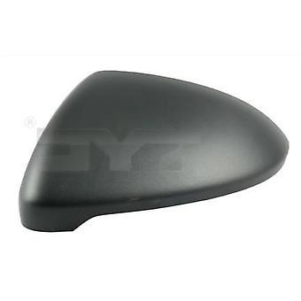 Vänster passagerar spegel Cover (svart kornig) för Volkswagen GOLF 7 2012-2018