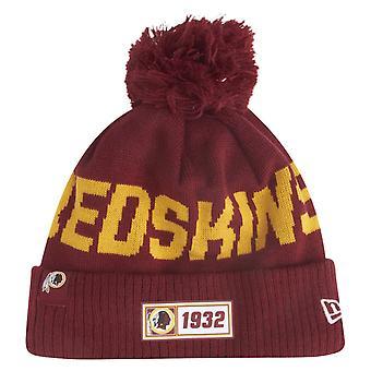New Era Sideline Road 2019 Bommel Hat Washington Redskins