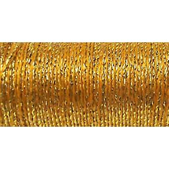Kreinik Fine Metallic Braid #8 10 Meter 11 Yards Golden Chardonnay F 5815
