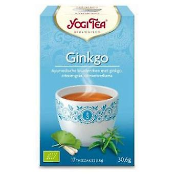 Yogi Tea Yogi Tea  Ginkgo  17 bags bio (Dietetics and nutrition , Herbalist's , Teas)