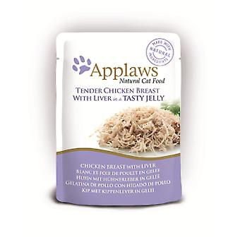 Applaws Jelly Cat Pouch Chicken / Liver (Katzen , Katzenfutter  , Nassfutter)