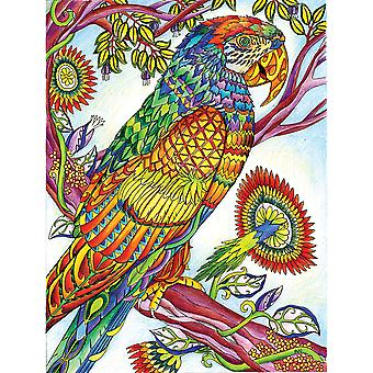 Coloriage Puzzle 300pcs-perroquet 1200