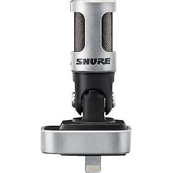 Mobile phone microphone Shure MV88 Transfer type:Direct incl. pop filter