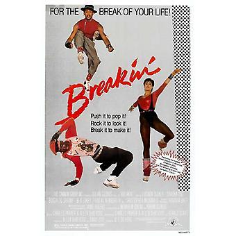 Breakin' filmposter (11 x 17)