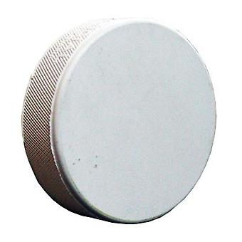 Match puck senior white without print