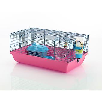Martha Hamster Cage 46.5x29.5x21cm (Pack de 4)