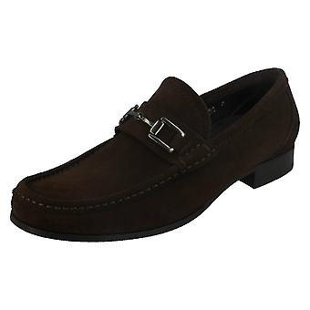 Mens Loake Moccasin Slip On Shoes Verona