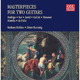 J. Rodrigo - Masterpieces for Two Guitars [CD] USA import