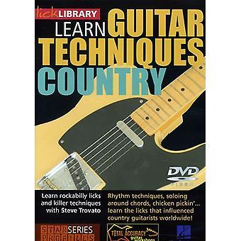 Land Guitar teknikker-Albert Lee stil [DVD] USA importerer