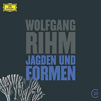 My/Ensemble Modern - 20C: Rihm-Jagden Und Formen [CD] USA import