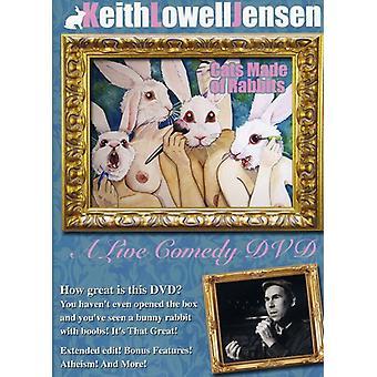 Lowell Jensen, Keith - katte lavet af kaniner [DVD] USA importerer