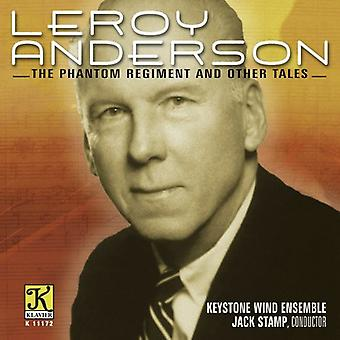 L. Anderson - Leroy Anderson: The Phantom Regiment og andre fortællinger [CD] USA import