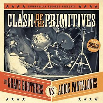 Grav brødre vs Adios Pantalones - sammenstød af primitiver [CD] USA importen