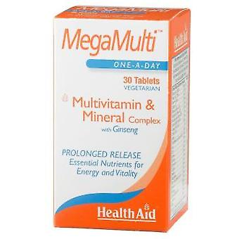 Health Aid Megamulti With Ginseng 30comp. Health Aid