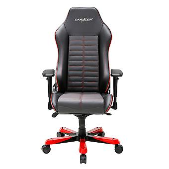 DX Racer DXRacer OH/IS188/NR High-Back Luxury Office Chairs Full Grain Leather(Black/Red)