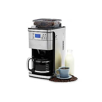 Andrew James Filter Coffee Machine With Timer And Integrated Grinder ( New And Improved Model )