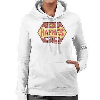 Haynes goldenen Vlies Motoröl Damen Sweatshirt mit Kapuze