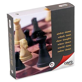 Cayro Square Magnetic Chess Checkers (Speelgoed , Bordspellen , Tradities)