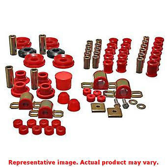 Energy Suspension Hyper-Flex System 7.18107R Red Fits:NISSAN 1995 - 1998 240SX