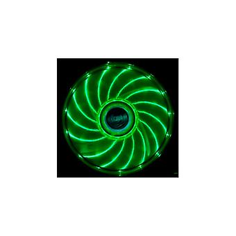 Akasa Vegas LED 1200 chassis fan 120x120x25mm, RPM, 3-pin, green