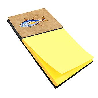 Tuna Fish Refiillable Sticky Note Holder or Postit Note Dispenser