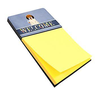 Petit Basset Griffon Veenden Welcome Sticky Note Holder
