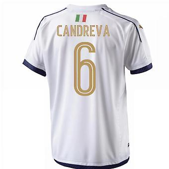2006 Italia hyllest bort skjorte (Candreva 6)