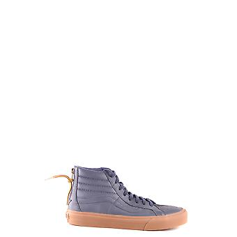Vans men's MCBI306106O Blau leather Hi Top sneakers