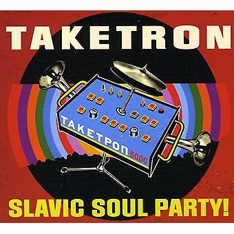 Slaviske sjæl parterne - Taketron [CD] USA importerer